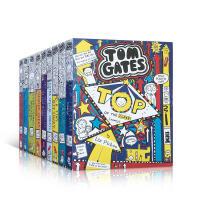 涂鸦小天才汤姆・盖茨9册盒装 英文原版 Tom Gates Extra Special Box 青少年桥梁章节书 学生课外读物 幽默漫画