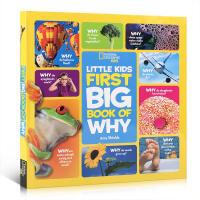 英文原版 Little Kids First Big Book of Why 国家地理精装大开本启蒙儿童百科书 探索世