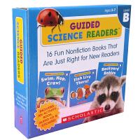 英文原版 Guided Science Readers Level B 16 Books+1 Activity Book