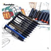 推荐日本kuretake吴竹针管笔 漫画勾边笔 水彩彩色 防水勾线笔