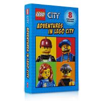 英文版绘本 Scholastic Reader:Adventures In Lego City 8册乐高城市英雄系列