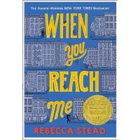 【现货】英文原版 When You Reach Me 当你找到我(2010纽伯瑞金奖小说)8-12岁青少读物 假期阅读