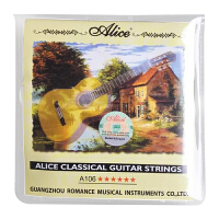 Alice爱丽丝古典吉他琴弦套弦单弦1弦2弦3弦4弦5弦6弦演奏全系列A106