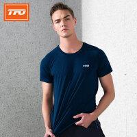 【下单即享7折优惠】TFO 情侣款 19年新款背部透气设计 吸湿排汗 男款短袖速干T恤运动T恤