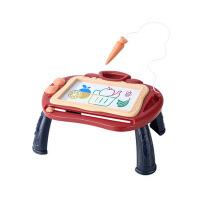 宝宝小黑板涂鸦写字板早教玩具3-6岁儿童大号磁性画板