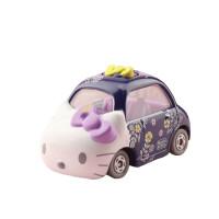 卡通小汽车合金车模女孩玩具礼物汽车饰品摆件 紫色 KT限量款