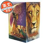 纳尼亚传奇 Chronicles of Narnia 英文原版 7册套装美国版 C. S. Lewis刘易斯 儿童奇幻