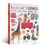【发顺丰】英文原版绘本 The Book of Things: 250+ First Words 单词词汇合集Sara