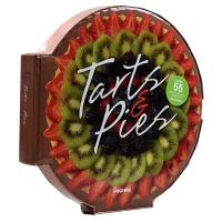 英文原版 TARTS & PIES 蛋挞&派 披萨 西式馅饼制作 甜品烘焙教程书籍 披萨形状图书