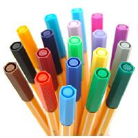 德国思笔乐STABILO 天鹅point草图/纤维/勾线笔 乐点88彩色水彩笔