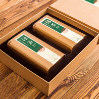 龙井包装盒 绿茶白茶红茶 茶叶罐礼盒半斤装通用定制