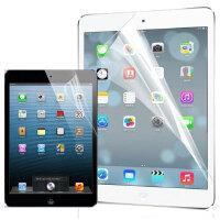 苹果iPad Air 2 iPad mini4 mini3/2 iPad4 保护贴膜 高透/磨砂防指纹屏幕保护膜 前机身贴膜 苹果iPad5保护膜 iPad mini保护膜