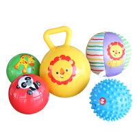 手抓球套装儿童玩具宝宝初级训练球组合摇铃球按摩球宝宝礼物