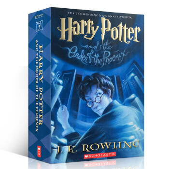 英文原版小说 Harry Potter and the Order of the Phoenix 哈利波特5 凤凰令社J. K罗琳 中小学9-12岁青少年科幻英语小说