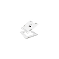 安尚actto NBS-07W笔记本散热架 散热器 电脑支托架人体工学底座 珍珠白