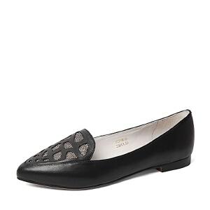 Belle/百丽春季专柜同款牛皮女休闲鞋P9W1DAQ6
