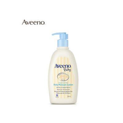 美国Aveeno baby艾惟诺燕麦保湿润肤乳 儿童补水护肤面霜 母婴 冬季护肤 防晒补水保湿 可支持礼品卡
