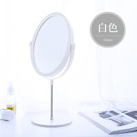 欧式双面镜梳妆镜公主镜台式宿舍女学生化妆镜子桌面便携小圆镜子