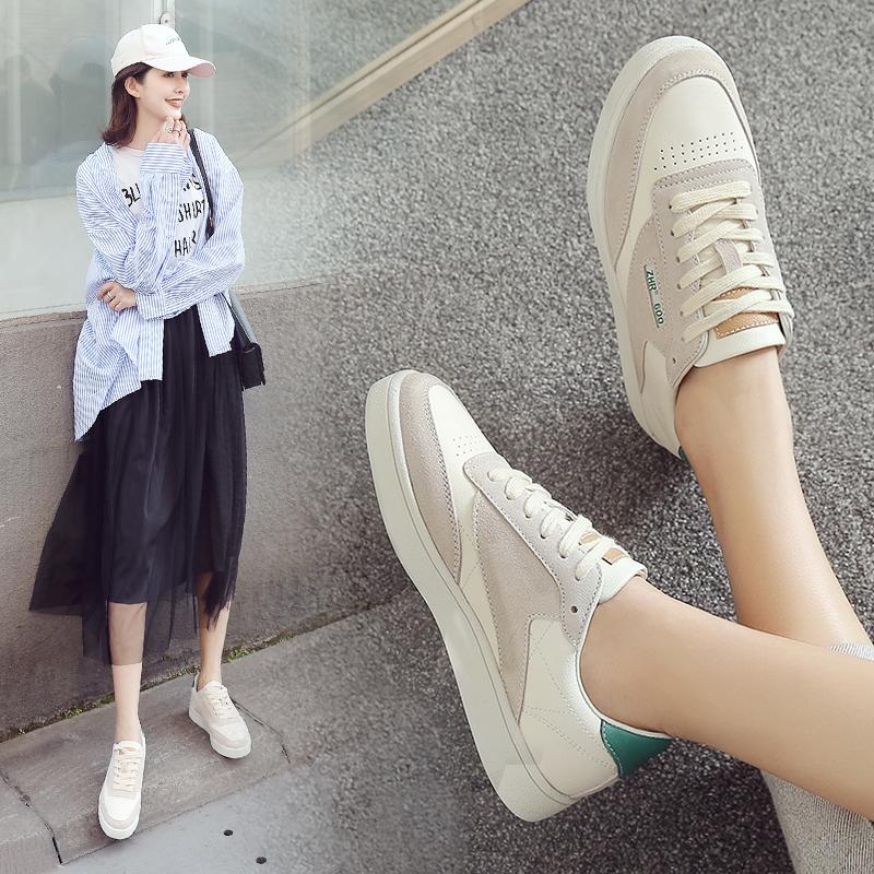 ZHR2018春季新款原宿风小白鞋板鞋1992运动鞋平底休闲鞋单鞋女鞋B82