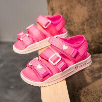 女童凉鞋夏季新款休闲鞋子男童沙滩鞋儿童露趾夏天鞋
