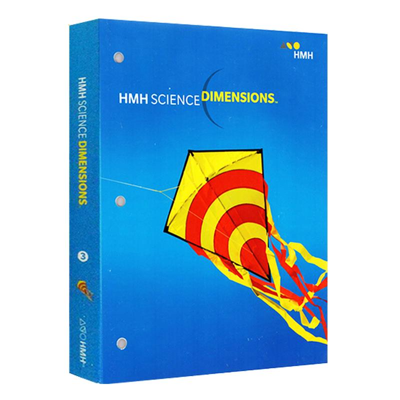 科学维度 三年级 英文原版 Science Dimensions G3 百科知识 教材教辅 学生用工具书 美国小学科学教材
