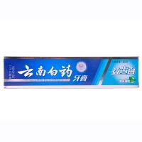 云南白药牙膏 益齿白家庭装 激爽薄荷型120g*3支 柔洁护龈