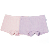 【秒杀价:29】巴拉巴拉旗下女童内裤儿童平角裤纯棉发育期学生短裤女中大童两条