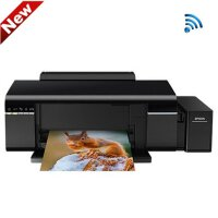 爱普生(EPSON) 墨仓式L805 景点专用 无线照片打印机 彩色相片6色喷墨打印机墨仓式替代L810