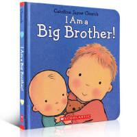 英文原版绘本 I Am a Big Brother! 我是大哥哥二胎儿童教育童书Caroline Jayne Chur