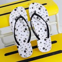 人字拖女夏防滑平底浴室学生凉拖鞋女士塑料夹脚室内拖鞋女夏平跟
