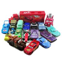 赛车汽车总动员合金玩具车模型闪电麦昆麦大叔组合套装