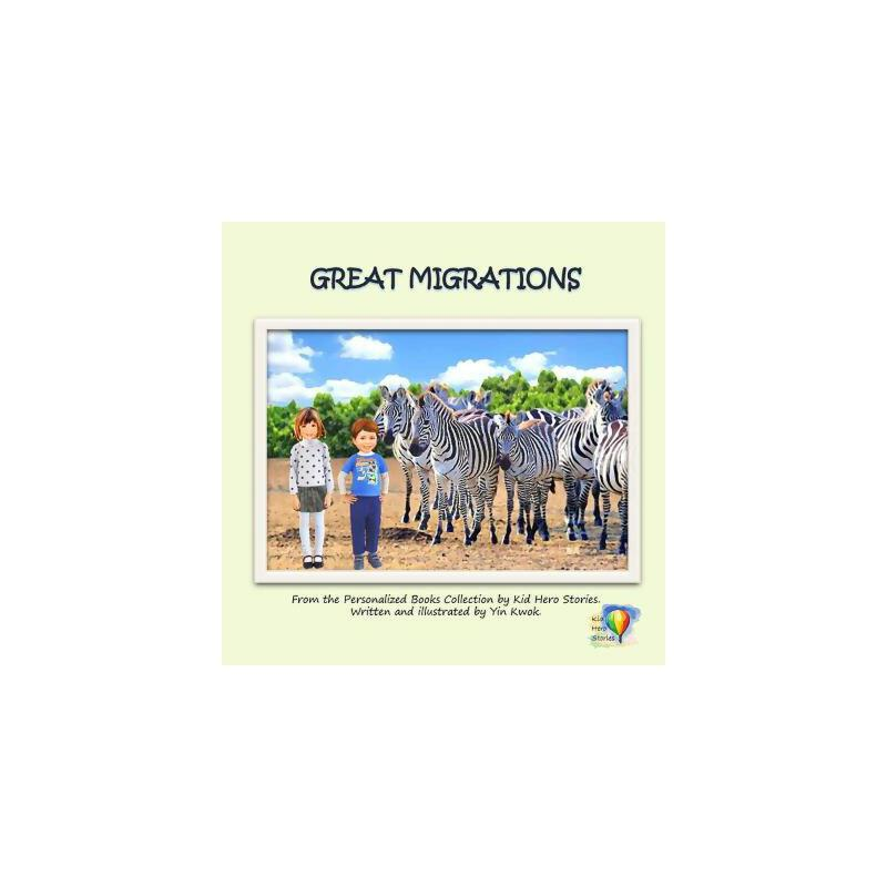 【预订】Great Migrations: From the Personalized Books Collection of Kid Hero Stories 预订商品,需要1-3个月发货,非质量问题不接受退换货。