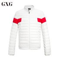 GXG男装 男士冬季韩版潮流时尚都市修身撞色休闲羽绒服#64811525