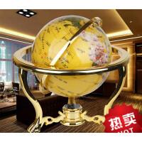 地球仪摆件 办公室装饰品商务开业礼品实用创意书房家居饰品摆件 金色 大号 大气之选