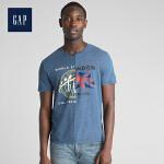 【4折价:79.6元 4.27日GAP超级品牌日】Gap官方旗舰店 男装 Logo Global Remix系列 活力