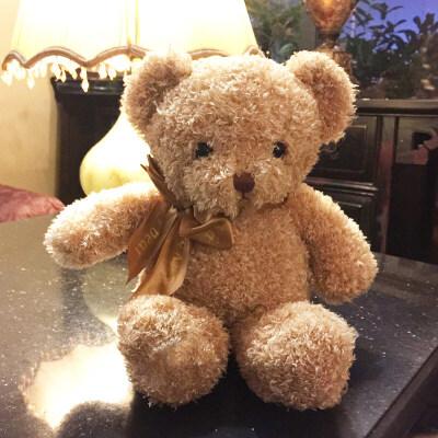 泰迪熊抱抱熊熊猫小熊公仔布娃娃毛绒玩具小号送女友生日礼物女生 发货周期:一般在付款后2-90天左右发货,具体发货时间请以与客服协商的时间为准