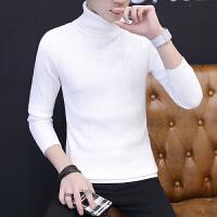 男士秋冬百搭打底针织衫毛衣青年秋装韩版修身高领羊毛衫线衫