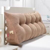 可拆洗三角立体床上大靠垫床头软包榻榻米沙发大靠背