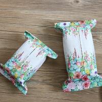 无则艺原创手工布艺棉麻餐厅纸巾套车用纸巾包创意纸巾盒卫生间抽纸巾