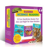 英文原版绘本 Scholastic Guided Science Readers EF 科学指导型阅读小套装 学乐出品