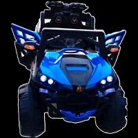 新款儿童电动越野汽车可坐人双座四驱四轮避震越野车男女宝宝早教摇摇玩具车自驾遥控电动童车