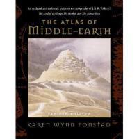 【预售】The Atlas of Middle-Earth 魔戒、霍比特人:中土地图 英文原版