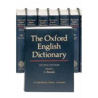 【预订】The Oxford English Dictionary: 20 Volume Set