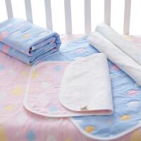垫透气大号棉 纱布隔尿垫婴儿可洗用品宝宝
