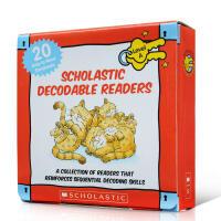 英文原版绘本书 学乐自然拼读初级盒装 Decodable Readers Box Set Level A (20 Bo