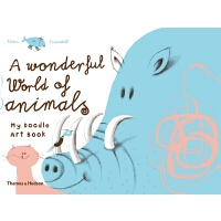 A Wonderful World of Animals: My Doodle Art Book 世界动物彩色图本