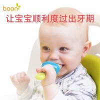 婴儿辅食器 水果磨牙棒牙胶 吃水果 宝宝咬咬袋果蔬乐