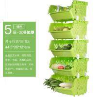 大号加厚厨房水果蔬菜置物架水果厨房用品塑料收纳架