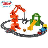 托马斯小火车轨道大师系列之凯西娅起重机运输套装儿童玩具GHK83
