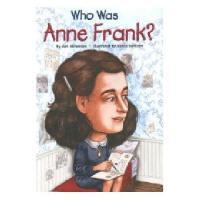 【现货】英文原版 Who Was Anne Frank? 漫画名人传记:安妮・弗兰克是谁? 中小学生读物